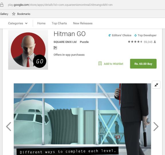 Hitman Go Sale