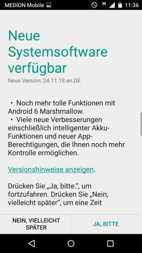 Moto X 2014 Germany Android 6.0 Marshmallow
