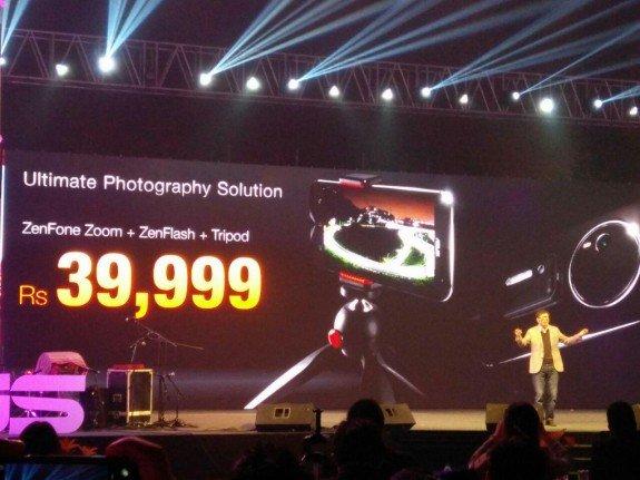 ASUS Zenfone Zoom India price tripod