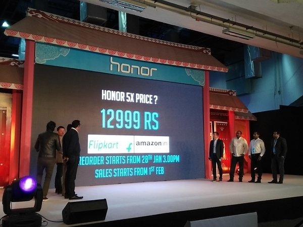 Honor 5X India