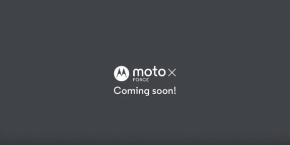 Moto X Force India