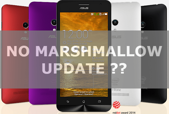 ASUS-ZENFONE-5 Marshmallow Update