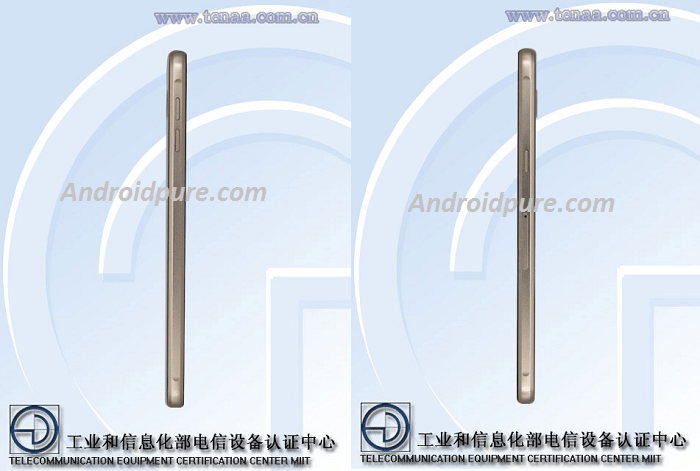 Galaxy A9 Pro sides