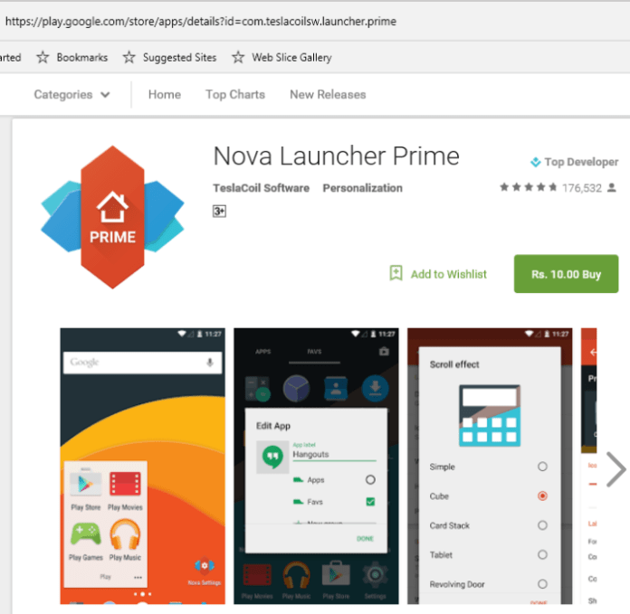 Nova launcher prime sale 2016