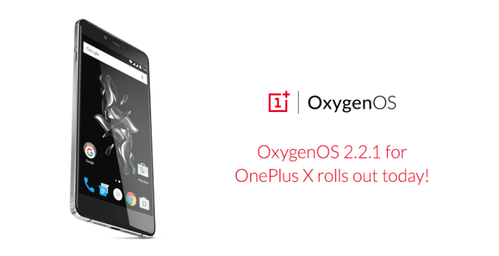 OxygenOS 2.2.1 OTA Update for OnePlus X