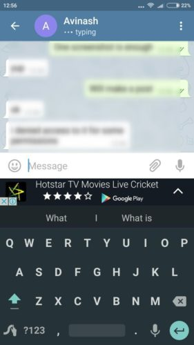 swype ads 2 e1464354810888 - Swype goes bonkers and releases an ad supported version of its keyboard for India
