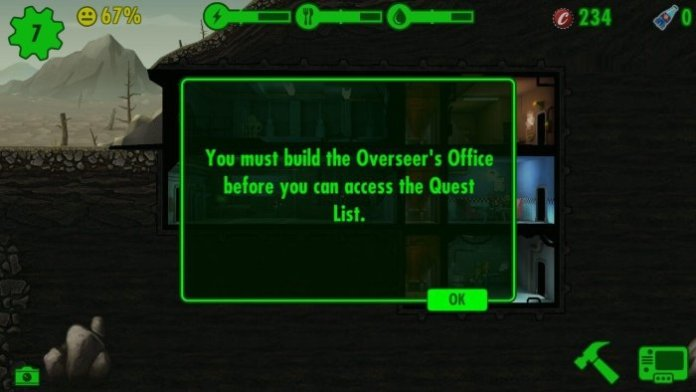Fallout Shelter Overseers Office