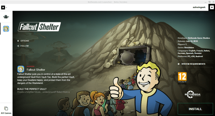 Fallout Shelter PC Game