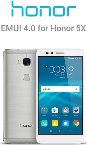 Honor 5X EMUI 4 update