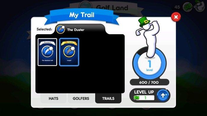 Super StickMan Golf 3 level up