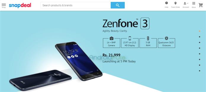 ASUS Zenfone 3 Price Leaked