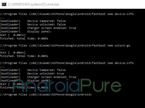 Redmi Note 3 OEM Status 3