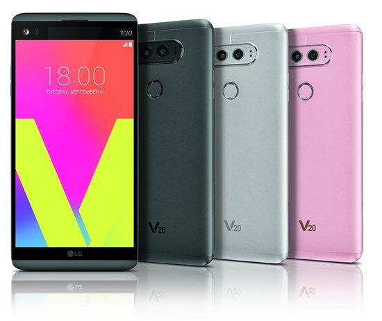 LG V20 official 3 - LG V20 with 16MP/8MP dual rear cameras, Android 7.0 Nougat officially launched