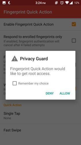 Fingerprint Quick Action 3 - How to enable fingerprint scanner gestures on any Android phone