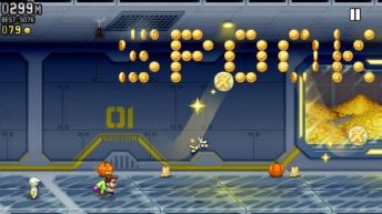 Jetpack Joyride Halloween Update 3 - Jetpack Joyride Halloween update brings Bone Dragon, Grim Reaper costume, Jack-o'-lantern jetpack and more