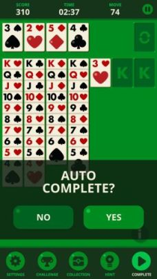 Solitaire Decked Out Ad Free auto complete - Solitaire: Decked Out Ad Free is the best version of Patience/Klondike card game ever made