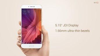 "Xiaomi Mi 5C display  - Xiaomi Mi 5C is official: 5.15"", Surge S1 Processor, 3 GB RAM, 2850 mAh battery, 1499 Yuan"