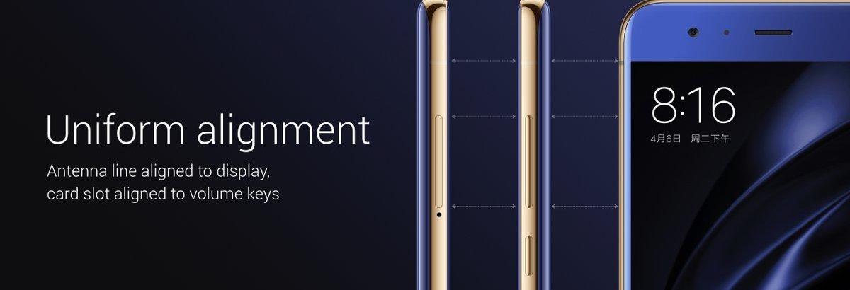"Xiaomi Mi 6 Display - Xiaomi Mi 6 launched with 5.15"" FHD, SD 835, 6 GB RAM, 12 MP dual cameras, No Audio Jack"