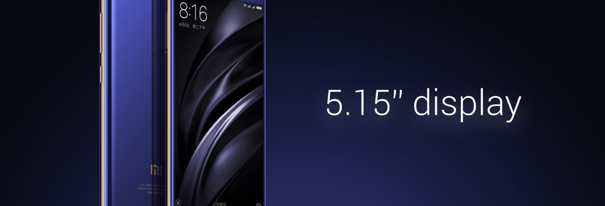 "Xiaomi Mi 6 Render - Xiaomi Mi 6 launched with 5.15"" FHD, SD 835, 6 GB RAM, 12 MP dual cameras, No Audio Jack"