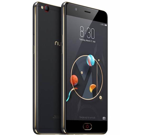Nubia M2 Lite - Nubia M2 Lite with 16 MP front camera, soft flash and 4 GB RAM launched for Rs. 13999