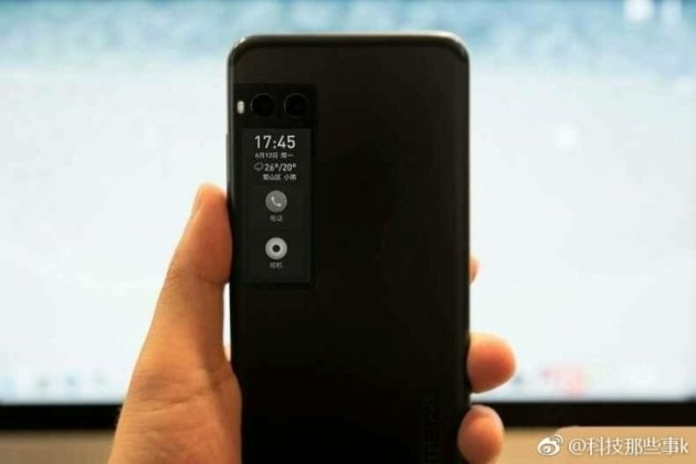Meizu Pro 7 b Alleged Meizu Pro 7 Press Renders with Dual Camera and Dual Screen leak 9