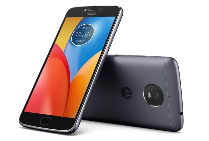 Moto E4 Plus Iron Gray Front Back - Moto E4 Plus with 5,000 mAh battery launched at Rs. 9,999 in India