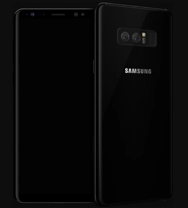 Galaxy Note 8 dbrand - Samsung Galaxy Note8 Dbrand Skin listed officially, reveal Fingerprint sensor at back