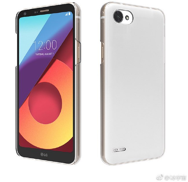 LG Q6 Press Render - LG Q6 Press Render leaked ahead of the official launch