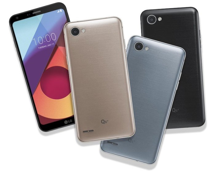 LG Q6 b - LG Q6 is official, brings FullVision Display to mid range phones