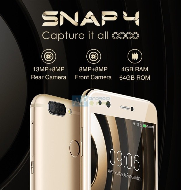 Infocus Snap 4 a - InFocus Snap 4 and Turbo 5 Plus launched in India for Rs. 11999 and Rs. 8999