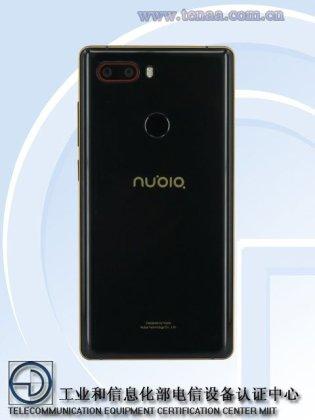 Nubia NX595J a - Nubia NX595J with 5.5 inch FHD, four cameras, 8GB RAM passes TENAA