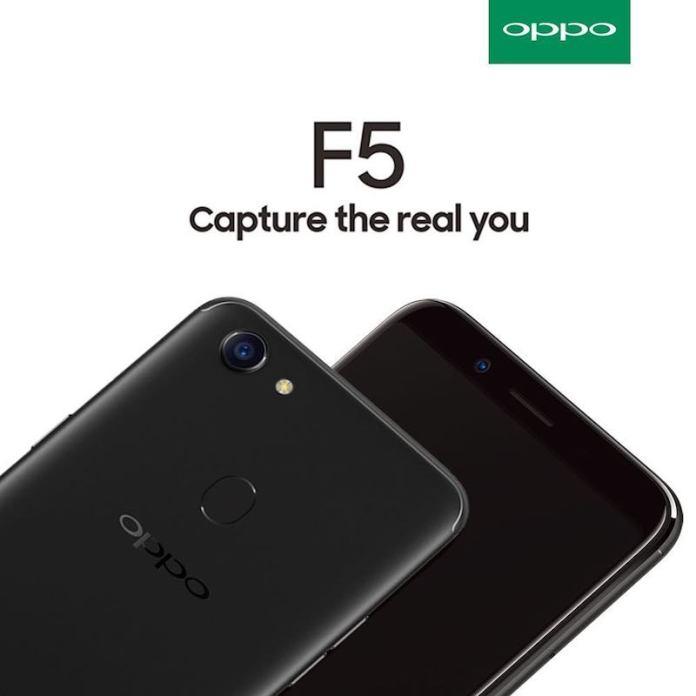 Oppo F5 1 - Oppo F5 Retail box image leak; reveal the full device