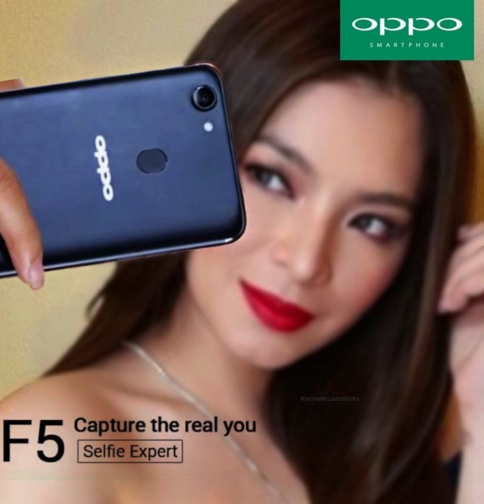 Oppo F5 Blue - Alleged Oppo F5 Renders leak ahead of official launch