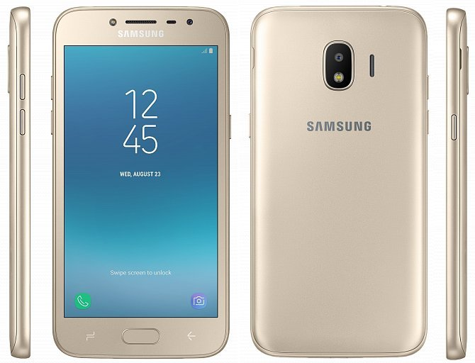 J2 2018 Gold 1 - This is the new Samsung Galaxy J2 (2018) in all its glory