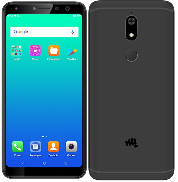 "Micromax Canvas Infinity Pro - Micromax Canvas Infinity Pro with 5.7"" 18:9 display, dual front camera launched for Rs. 13,999"