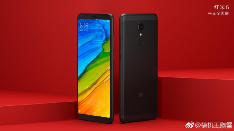 Xiaomi Redmi 5 Plus b - Xiaomi Redmi 5 / Redmi 5 Plus official press renders surface ahead of official launch