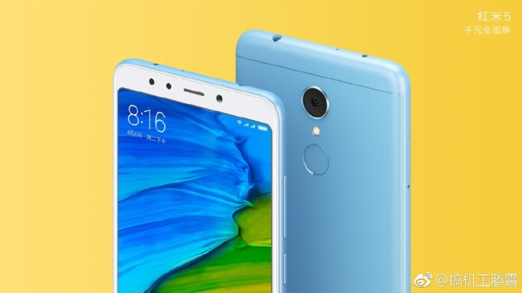 Xiaomi Redmi 5 Plus - Xiaomi Redmi 5 / Redmi 5 Plus official press renders surface ahead of official launch