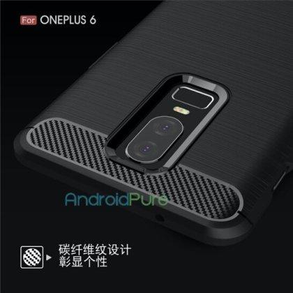 OnePlus 6 k - Exclusive: More OnePlus 6 Case Renders leak, confirm design