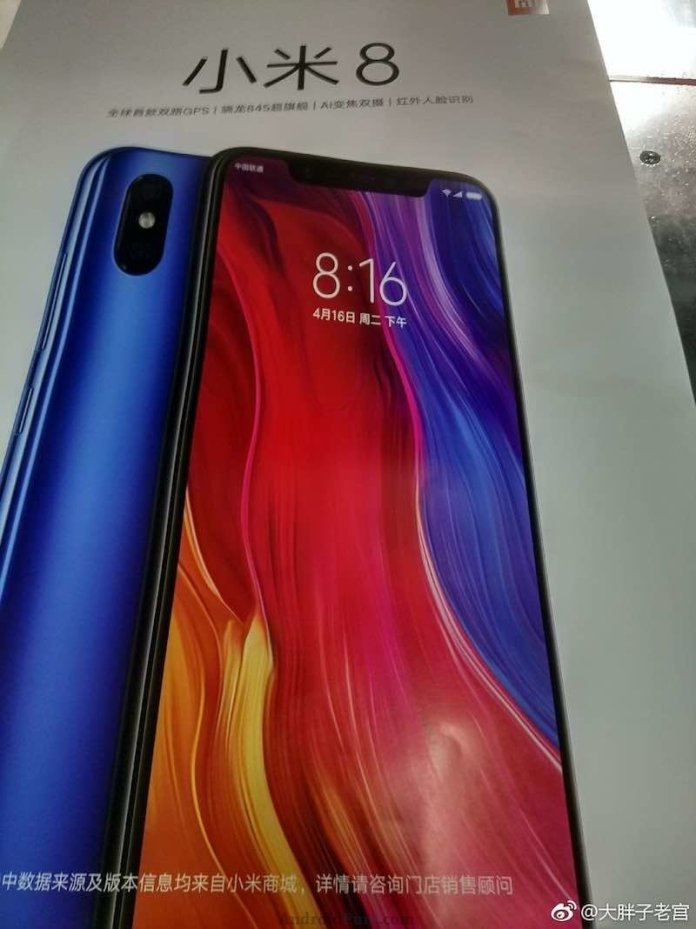 Xiaomi Mi 8 3 Xiaomi Mi 8 retail box leak, confirm notch, dual camera and design of the phone 1