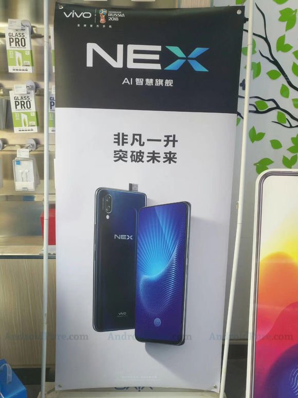 Vivo NEX - Vivo NEX poster and specifications leak, suggest SD845 and SD710 variants