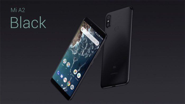 Mi A2 Black colour