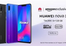 Huawei Nova 3i open sale