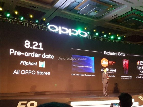 Oppo f9 offers 2