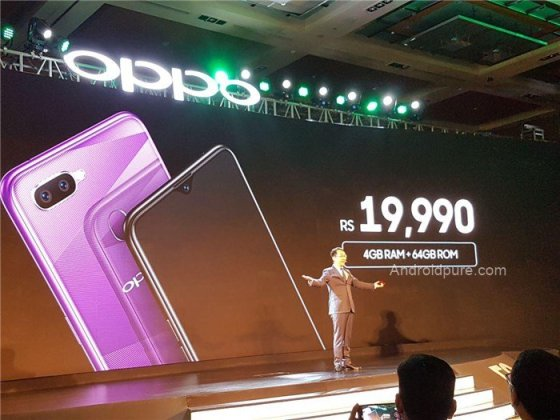 Oppo F9 price