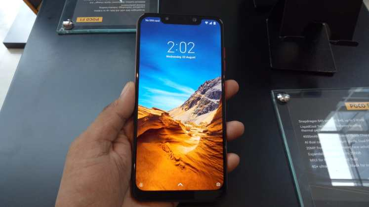Poco F1 c Poco F1 with Snapdragon 845, Notch display launched in India, price starts at Rs. 20,999 1