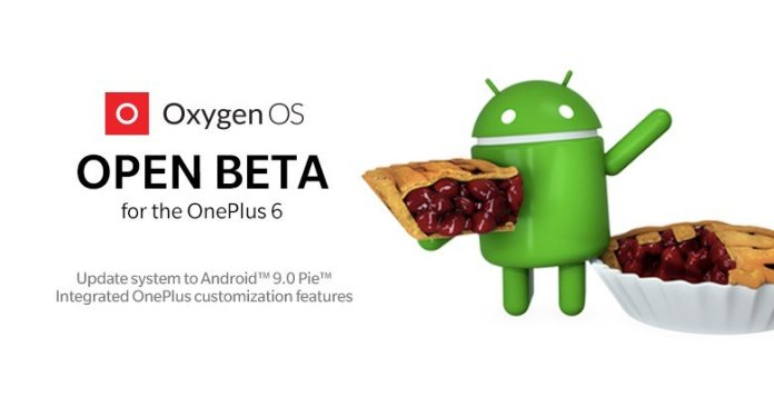 OnePlus 6 Android Pie Update
