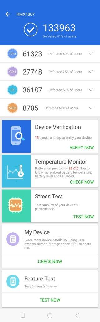 Realme 2 Pro benchmark AnTuTu