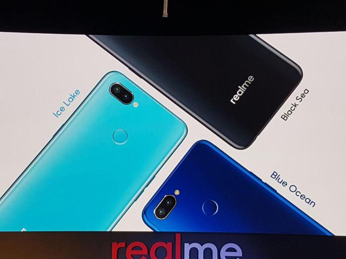Realme 2 Pro colour options