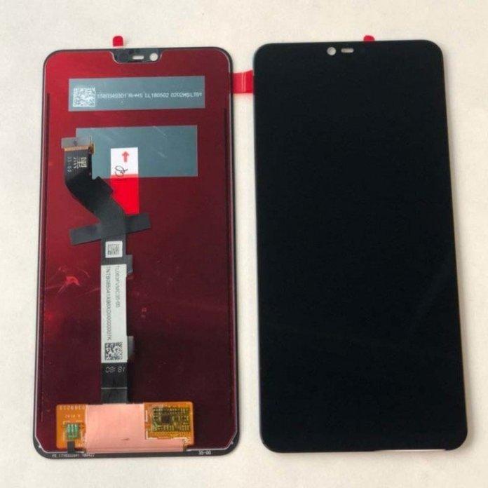Redmi Note 6 notch display design leaked
