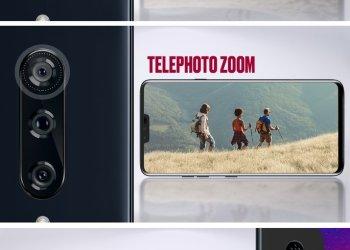 LG V40 ThinQ 5 camera design